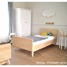 chambre enfant bois massif lit enfant évolutif vogue de zinezoé