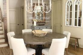 diy round farmhouse table excellent diy round farmhouse table diy swank inside round farmhouse