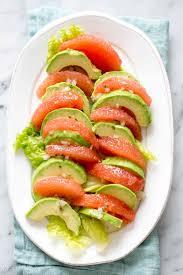 grapefruit avocado salad recipe simplyrecipes com