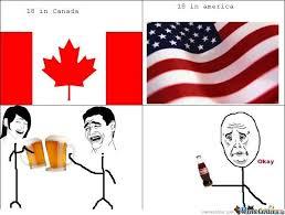 Canada Day Meme - 18 in canada 18 in america by mustapan meme center