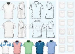 mens poloshirt design template vector art thinkstock