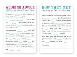 bridal mad libs wedding mad lib template tbrb info