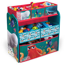 4 Tier Toy Organizer With Bins Disney Finding Dory Multi Bin Toy Organizer Walmart Com