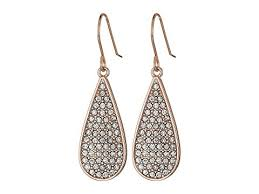 Ralph Lauren Chandelier Fashion Earrings Lauren Ralph Lauren Rose Palais Small Pave Teardrop Earrings At