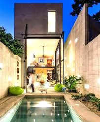 hacienda home decor modernist house with abstract shape and exciting lighting mexican