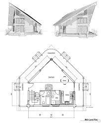 100 a frame blueprints a frame house from the 1960s house