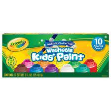 crayola washable kid u0027s paint 10 pack crayola toys
