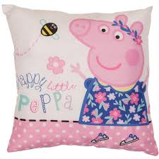 peppa pig nautical filled cushion harry corry limited