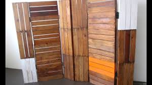 solid wood room divider youtube