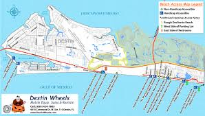 Map Of Gulf Coast Florida by 30a U0026 Destin Beach Access Destin Wheels Rentals In Destin Fl
