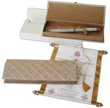 Scroll Invitation Scroll Wedding Invitations One Stop Wedding Invitations Shop
