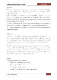Upload Resume Online For Jobs by Job Portal System Doc