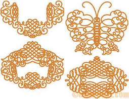 embroidery set 31 gold ornaments set embroidery designs at