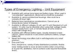 unit equipment emergency lighting ebc emergency lighting systems 1