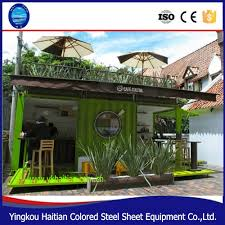 coffee shop design cost modular prefab home kit price low cost portable office containers