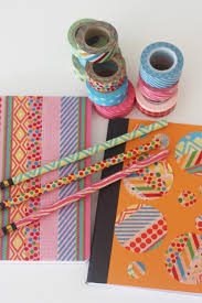 washi back to school notebooks and pencils catch my