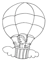 balloon coloring pages air balloon coloring pages free to print coloringstar