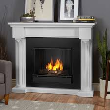 real flame ashley indoor gel fireplace white hayneedle
