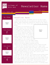 newsletter templates free word best solutions of newsletter