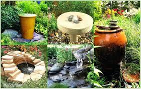 Backyard Fountains Ideas Backyard Water Ideas Solar Water Ideas For Your