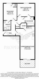 light and airy two bedroom two ensuite bathroom 3rd top floor