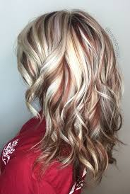 blonde high and lowlights hairstyles high contrast highlight and lowlights blonde hair color ideas
