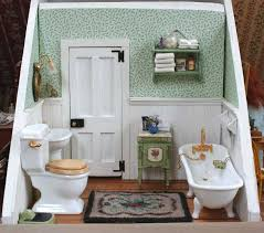 Best Dollhouse Miniature Bathroom Images On Pinterest - Bathroom rooms