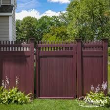 15 fantastic mahogany illusions pvc vinyl fence images illusions