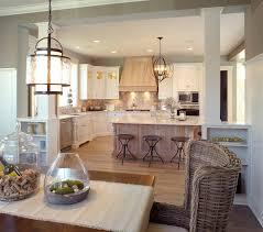 mullet cabinet elegant whitewashed kitchen with quarter sawn