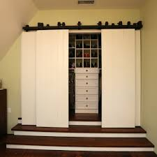 Contemporary Closet Doors For Bedrooms Barn Closet Doors Bathroom Contemporary With Barn Door Bedroom En
