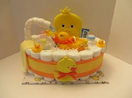 Diaper Cake Bathtub Loaded Diaper Bath Tub Diaper Cake Baby Shower Gift 8211