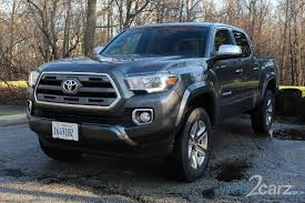 toyota tacoma 2016 pictures 2016 toyota tacoma limited 4x4 review web2carz