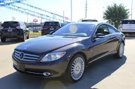 cpe class used 2007 mercedes cl class 2dr cpe 5 5l v12 near fort smith