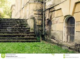 abandoned mansion staircase stock photo image 46846559
