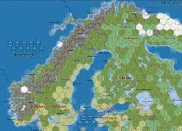 Scandinavia Map Re Modifications To Mwif Scandinavia Map Portion