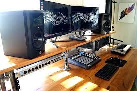 recording studio desk best custom studio desks gallery pertaining