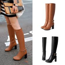 waterproof motorcycle riding boots 2015 winter leather boots for women ladies knee high boots