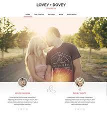 le site du mariage lovey dovey un thème pour site web de mariage