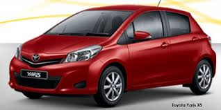toyota yaris south africa price toyota yaris 5 door 1 3 xs specs in south africa cars co za