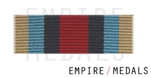 afghanistan ribbon osm afghanistan medal ribbon bar with rosette empire medals