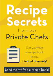 10 best reasons to book a personal chef for your dinner party