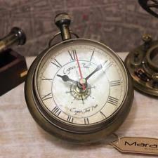 Nautical Desk Clock Brass Antique Style Desk Mantel U0026 Shelf Clocks Ebay