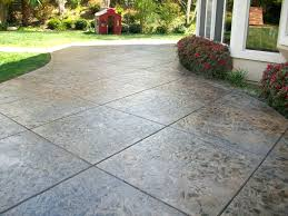 patio ideas backyard concrete patio ideas backyard concrete