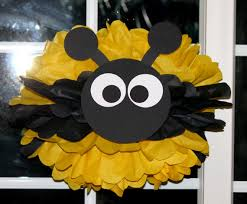 Bumble Bee Bumblebee pom pom kit baby shower first birthday party