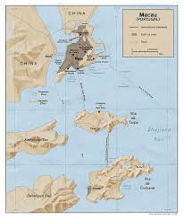 Map Of Lebanon Maps Of Macau Detailed Macau Of Lebanon In English Tourist Map