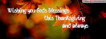 more like god s blessing at thanksgiving happy