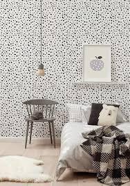 tapisserie chambre d enfant inspirations cette chambre en noir et blanc partie 2