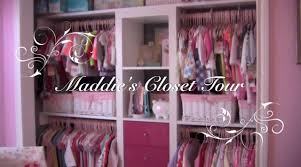 maddie s maddie s closet tour featuring the ikea expedit shelves youtube