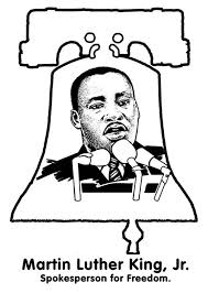 Luther King Jr Coloring Page Dr Martin Luther King Jr Coloring Pages