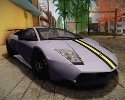 Lamborghini Murcielago Top View - lamborghini murcielago lp 670 4 sv fixed version for gta san andreas